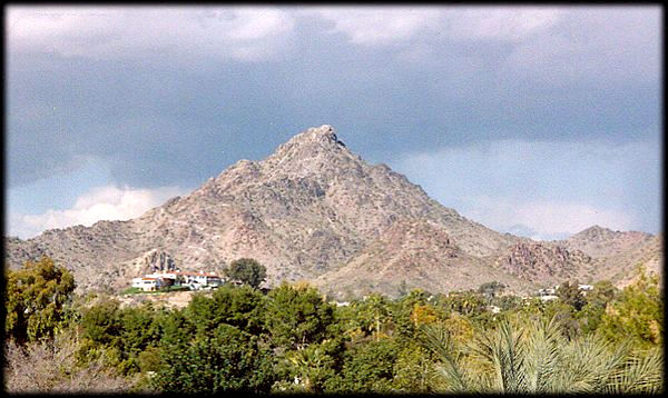 Located almost in the geographic center of the city, Squaw Peak dominates the Phoenix skyline.