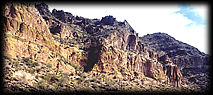 Geronimo Head Formation in the Usery Mountains, near Phoenix, Arizona.